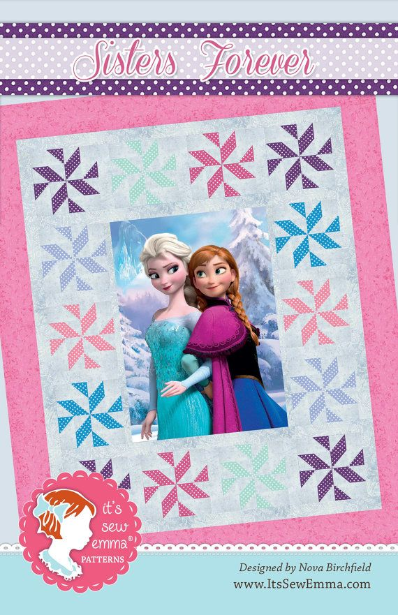 """Disney's Frozen Quilt.  60 x 72""""  READY to SHIP"""