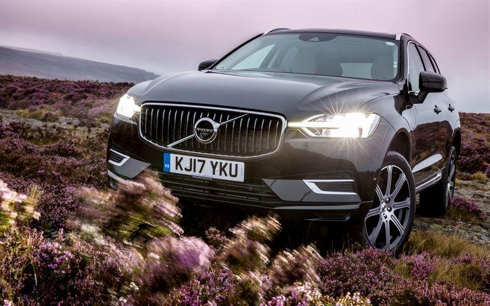 Descargar fondos de pantalla Volvo XC60, 2018 coches, T8, offroad, SUVs, Volvo