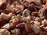 Butternut Squash with Pecans and Blue Cheese. #recipes, #squash, #butternut, #cheese, #pecans