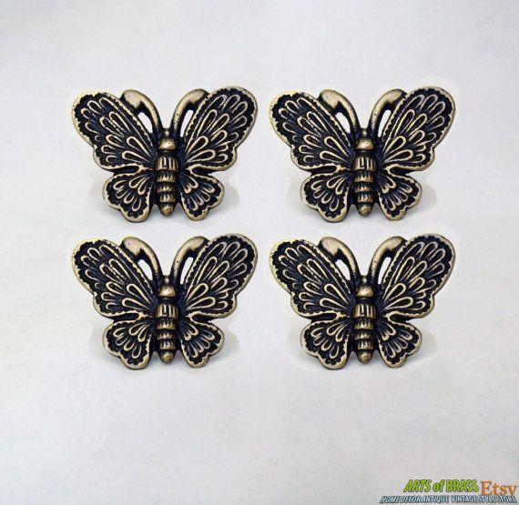 144 best Butterfly door knobs images on Pinterest | Door knobs ...