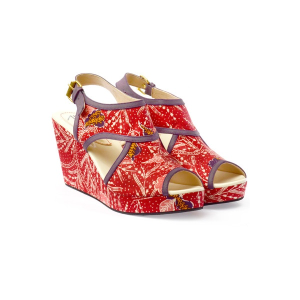 CANDI red - UP shoes via Polyvore