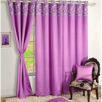 Blackout Curtains Printed Lris Orchid-2011