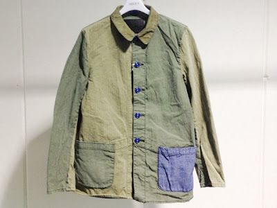 WEAR DIFFERENT: CANTON Combination French Work Jacket