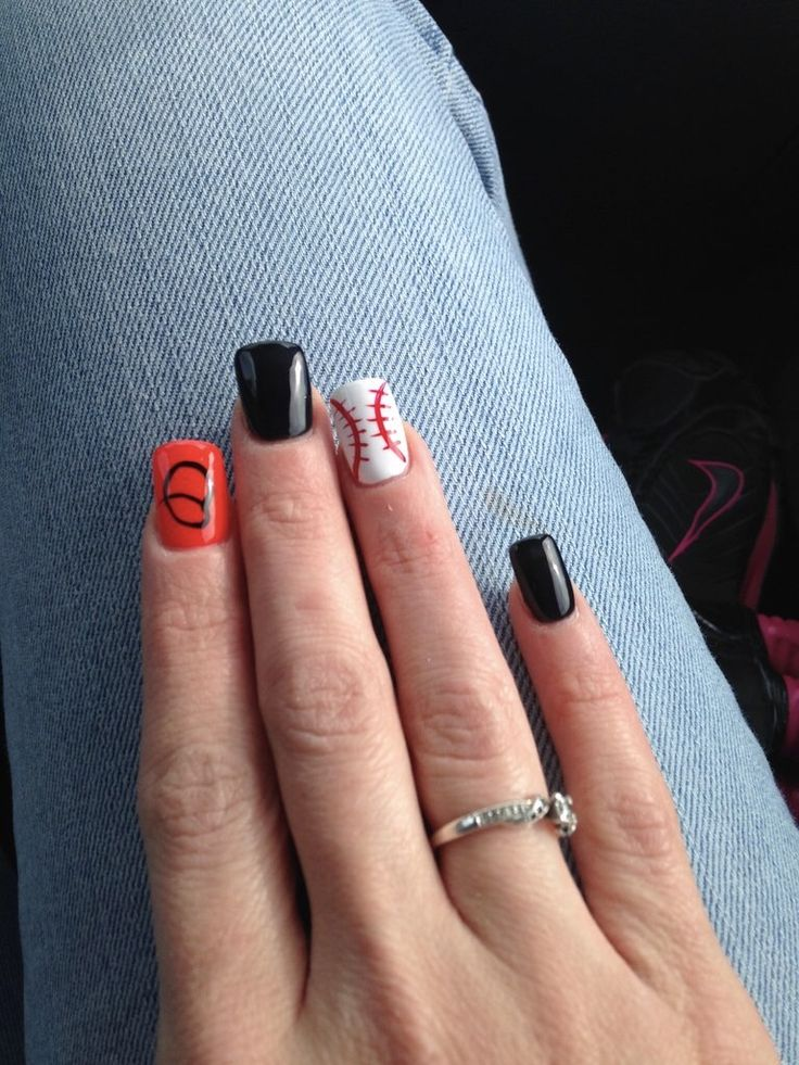My Orioles nails ⚾️ by far one of my fave sets I've had