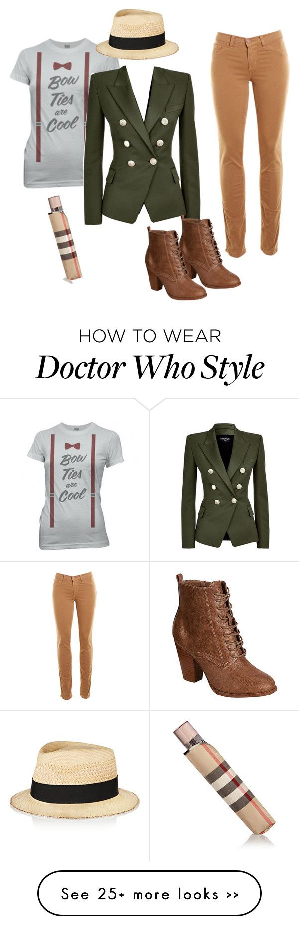 """Doctastic"" by chuusui on Polyvore"