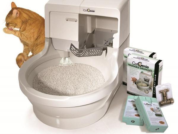 Truques para o mau cheiro da areia do gato. O odor da urina e das fezes do gato são muito penetrantes. Por conseguinte, a limpeza diária da caixa e da areia aglomerante com uma pá recolhedora de restos é...