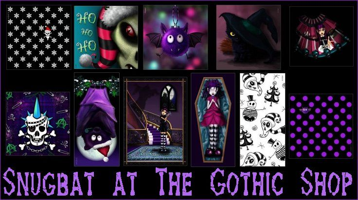The Gothic Shop Blog: More new items at The Gothic Shop
