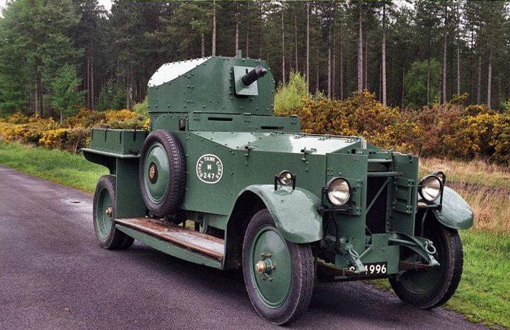 Rolls-Royce Armoured Car  WW I