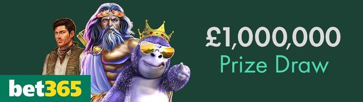 Bet365 launch £1m prize draw! Find out how to enter & earn bonus entries.