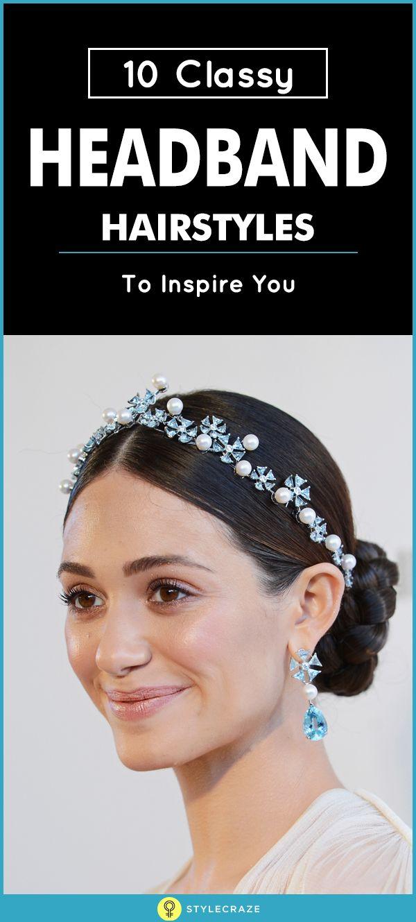 best 25+ headband hairstyles ideas on pinterest   headband updo