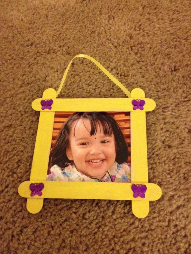 Return gift frame for each kid.