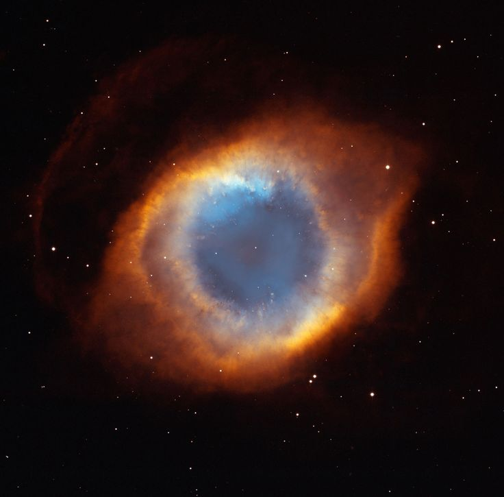 The Eye of God - taken by NASA's Hubble Space Telescope