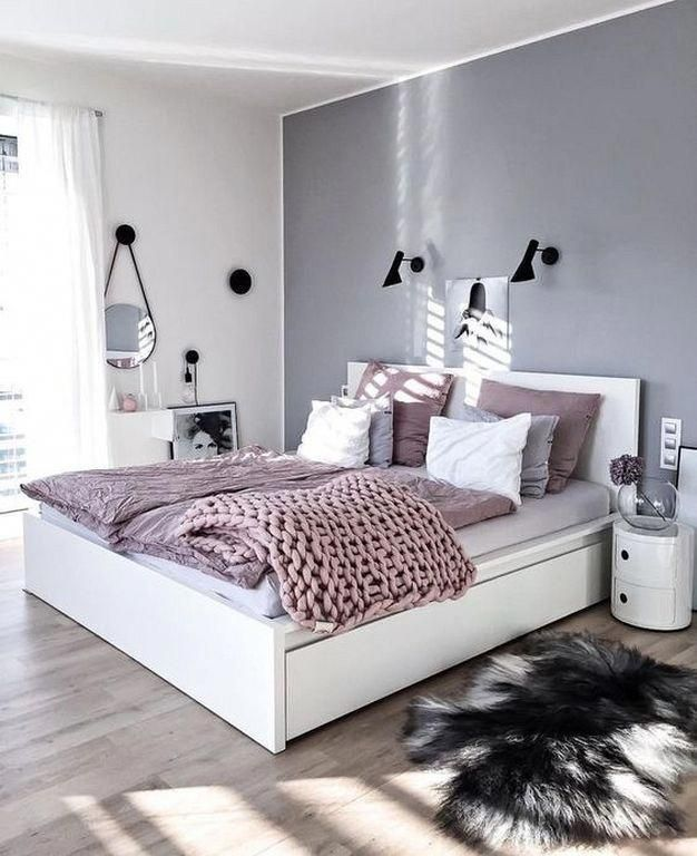 20 Minimalistische Graue Teenager Madchen Schlafzimmer Design Und Dekor Ideen Bedroomdesignan Bedroomdesi Bedroom Design Bedroom Interior Bedroom Themes