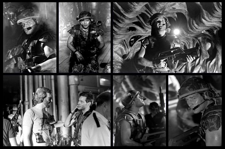 Photos of James Remar as Corporal Hicks in ALIENS before being replaced by Michael Biehn - Posted by Gabriel Lorden