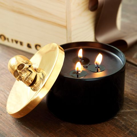 happy halloween candle! pricey but burns for 100 hours :) $114