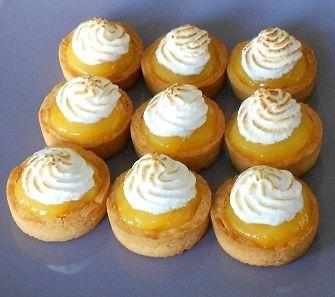 Tarte citron (palet Breton) Conticini