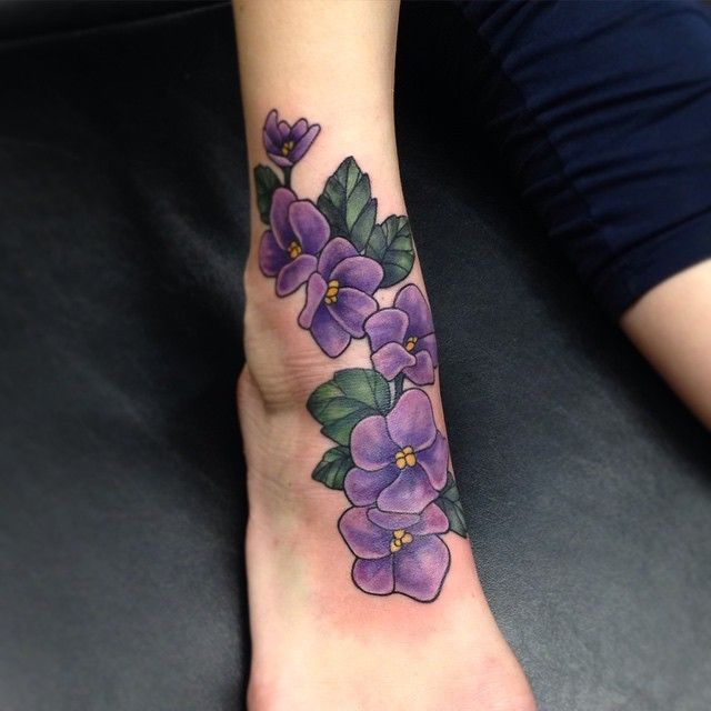 260 Best Tattoos I Might Want Images On Pinterest: Best 25+ Violet Flower Tattoos Ideas On Pinterest