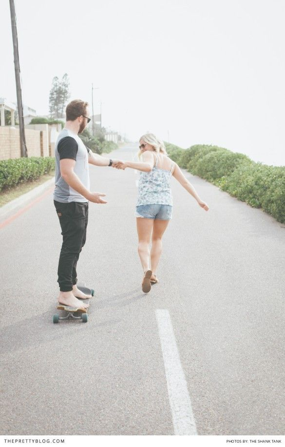 Seaside & Skateboards   Couples   Photography by The Shank Tank
