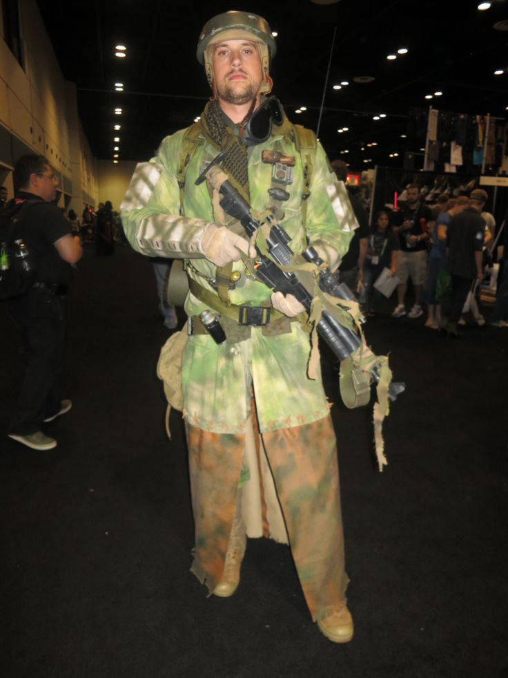 Endor Rebel Soldier   Cosplay   Pinterest   Cosplay and Sw ...