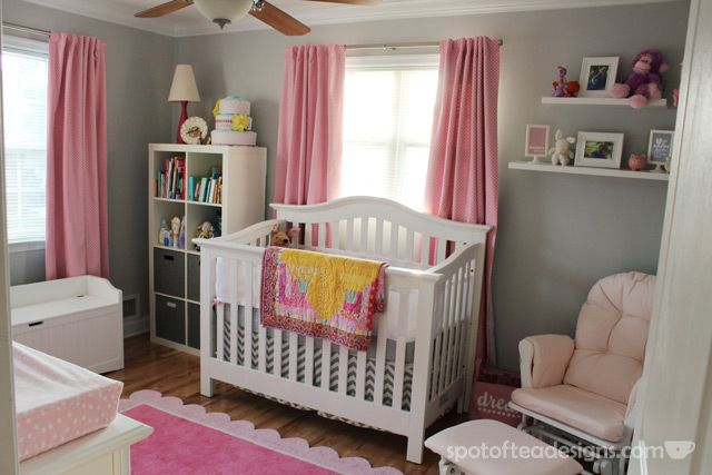 baby girl nursery on - photo #46