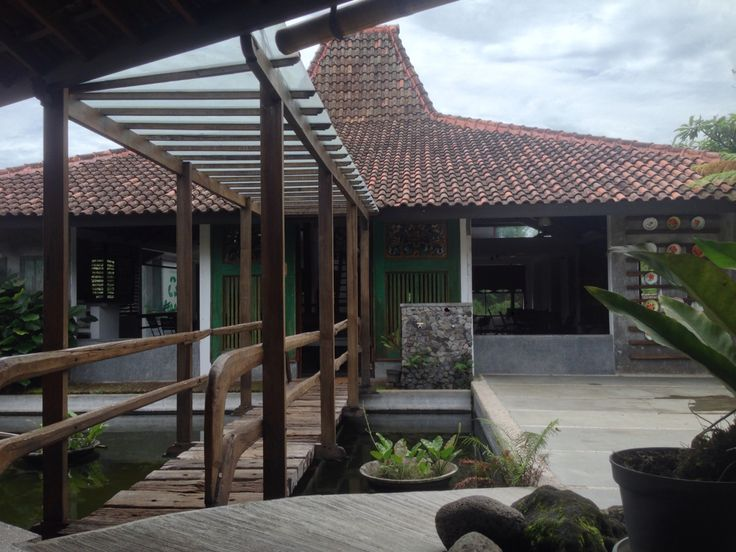 Traditional Java Joglo house dated 1818
