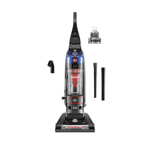 Hoover WindTunnel® 2 Rewind Bagless Vacuum | ON SALE $99.88  Never wrap a cord again with the Hoover UH70825 WindTunnel 2 Rewind Bagless Upright.   The auto rewind cord retracts in seconds making it easy it easy to use more often with less hassle. It's designed with WindTunnel 2 Technology that lifts and removes deep-down, embedded dirt with 2 channels of suction.