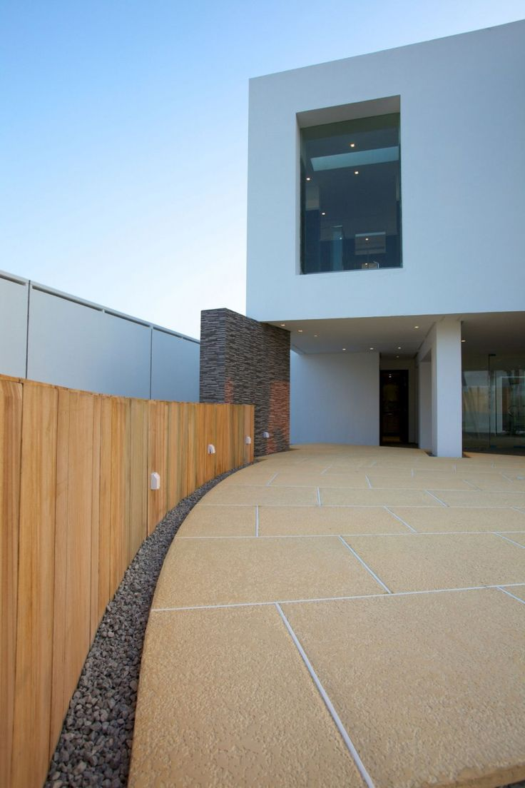Contemporary Residence Bahrain House Architected By Moriq: 52 Best Decorative Exterior Tile Accents For House Designs