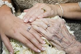 the hands of myself, my Mom and my Grandma : )
