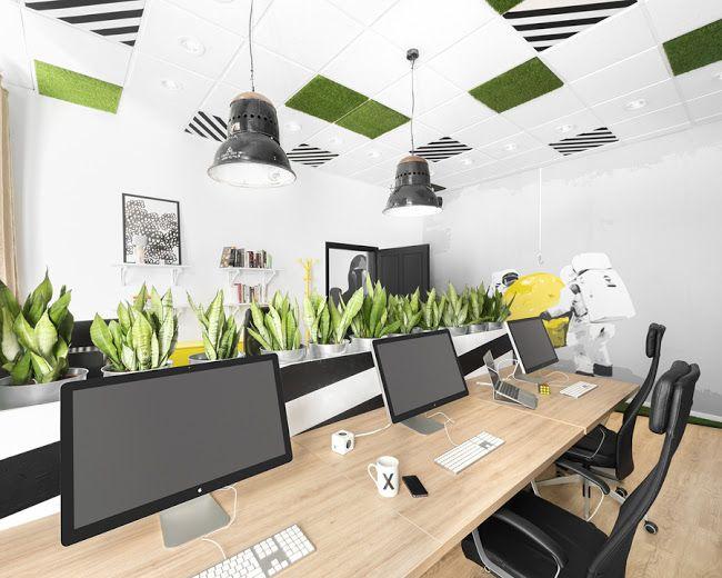Office interior by Tamás Hannus, Térkultúra Design Team