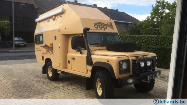 Special Edition Land Rover Defender 130 Mobilhome 2.5 L Diesel Totale massa / Masse total - 3.5 Ton Slaapplaats / Endroit où dormir - 4 personen /...