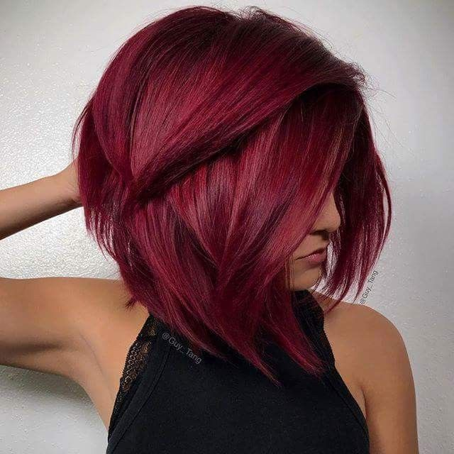 Can Put A Undertone Of Pink Or Purple Burgundy Hair Dye Hair Styles Hair Color Shades