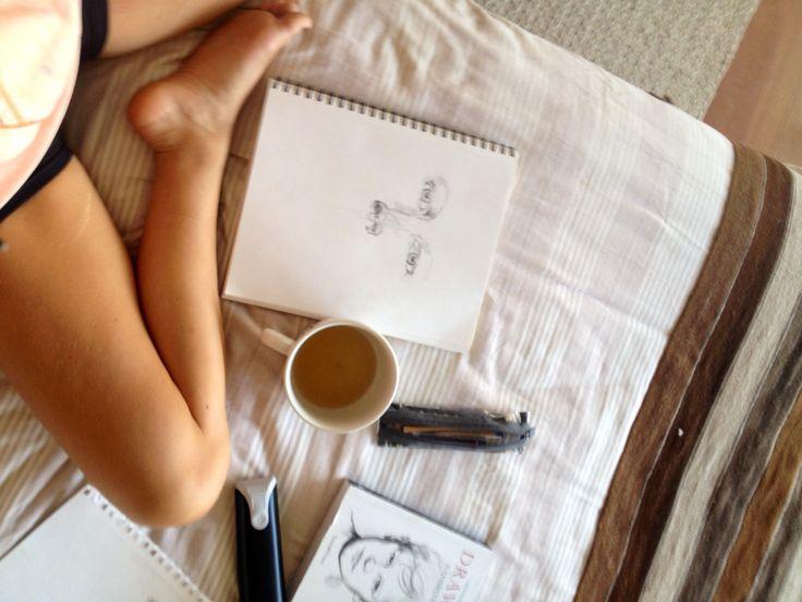 Drawing comfy