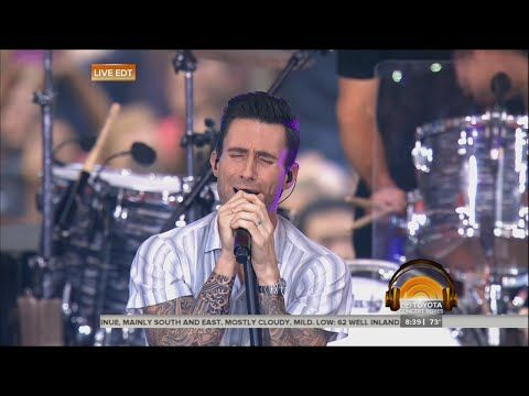 Maroon 5 Concert on Today Show | LIVE 9-1-14 - YouTube