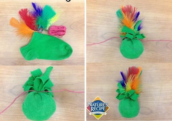juguetes hechos en casa para gatos 9 - Vivir Creativamente