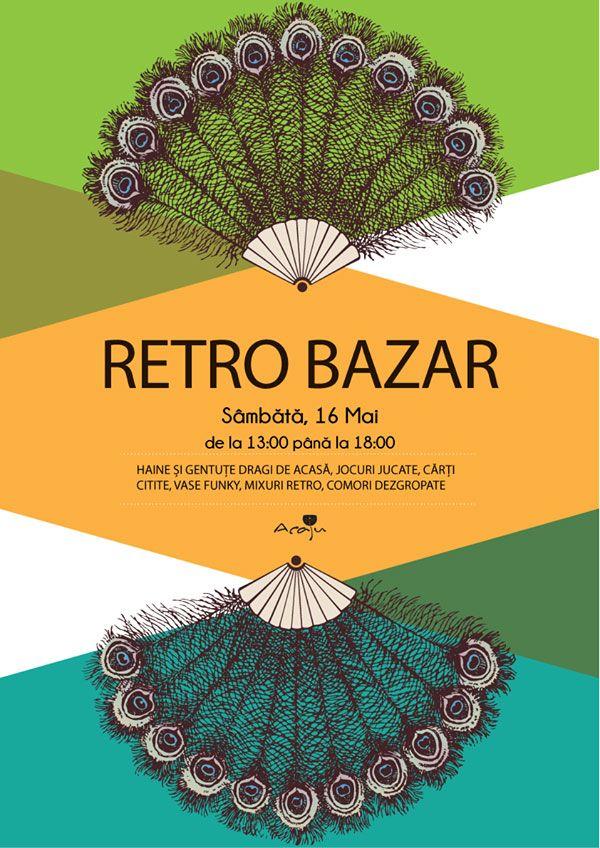 O noua editie RETRO BAZAR Cafeneaua Acaju (With images