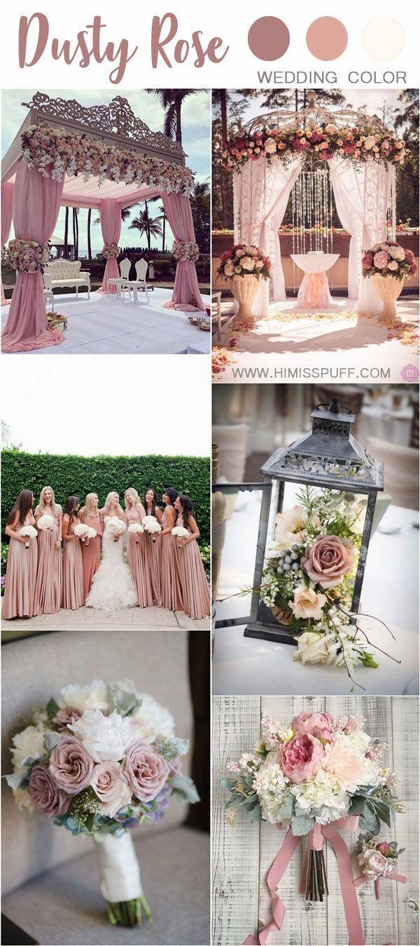 groß 30+ Trendy Dusty Rose Wedding Color Ideas