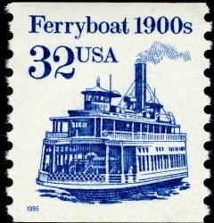 Scott 2466 — 32c Ferryboat