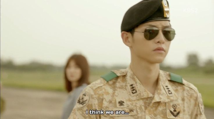 Ep 2 - I think we are bumping into each other as we pass by #descendants of the sun #song Joong Ki #song hye gyo