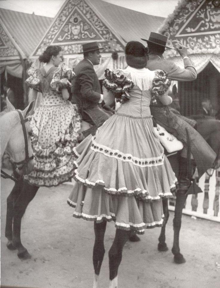 La Feria en Blanco y Negro.