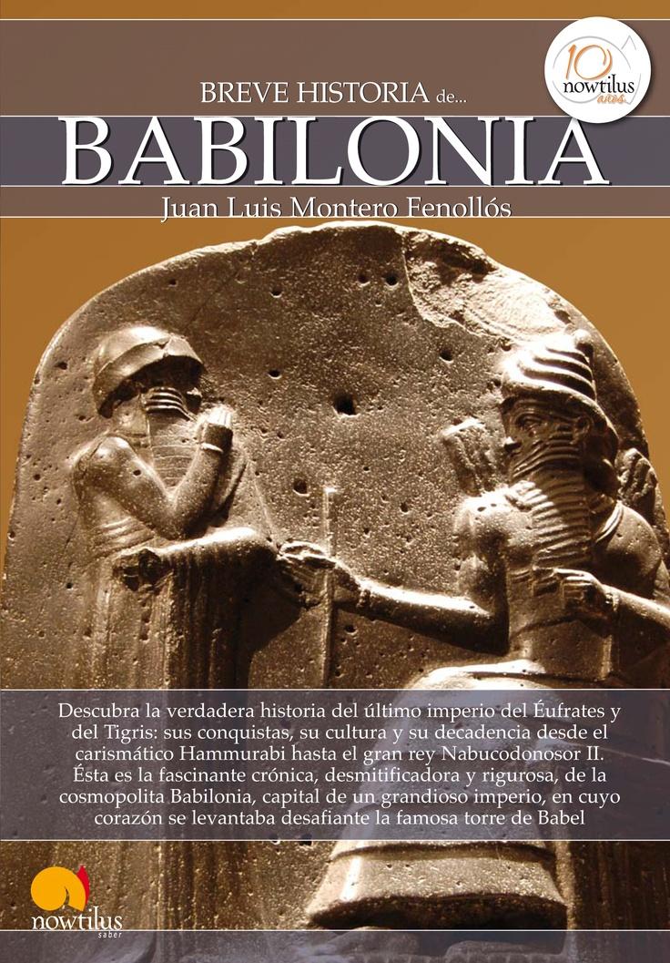 Portada Breve historia de Babilonia