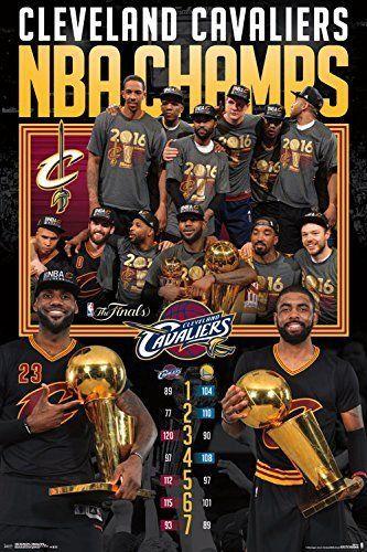 2016 Nba Finals Cavaliers Celebration Sports Poster 61 X 91 Cm