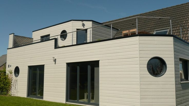 Red Fox - Gallery - CanExel Cladding CanExel® high density wood - credit impot maison neuve