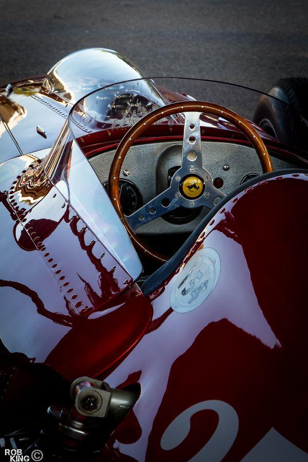 vintage Ferrari.