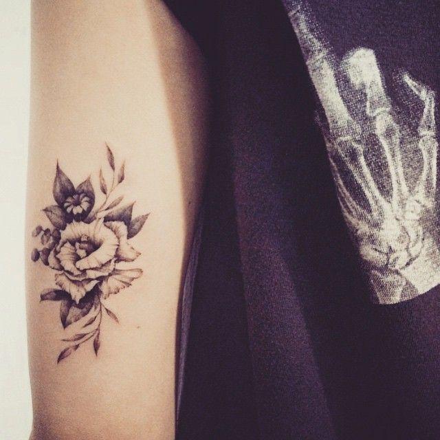 Arm Tattoo Tattoo Arm And Beautiful T: Such Beautiful Vintage Rose Tattoo ️ #tattoo #tattoos