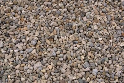 Pebble Patio Over Dirt