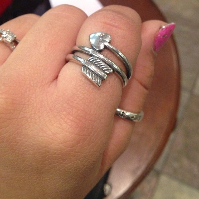 Arrow & Heart Ring #jamesavery | Instagram viewer | # ...
