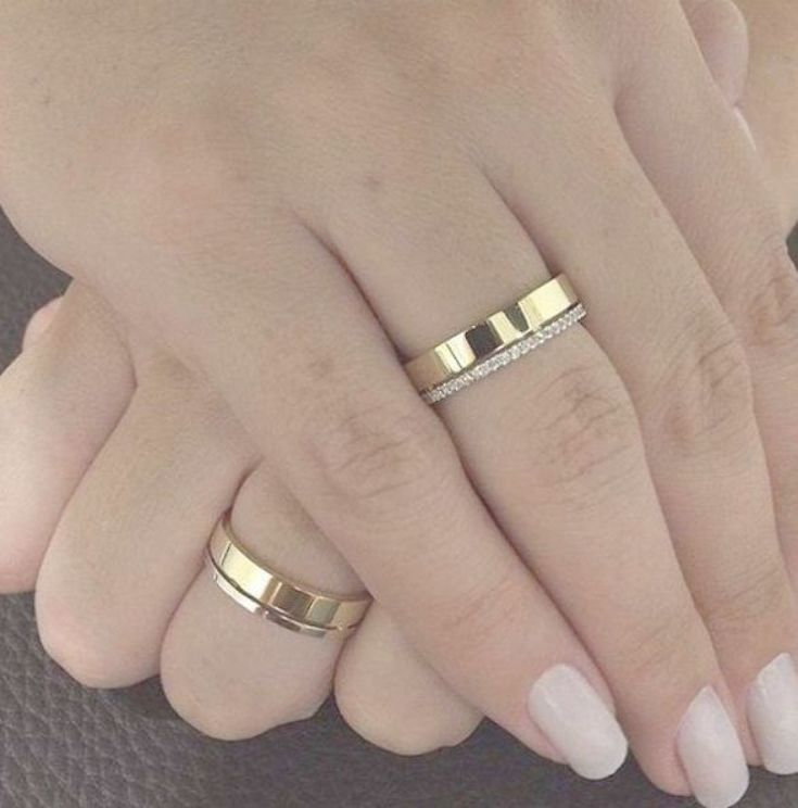 Wedding Couple Rings Gold New Design 2020 Addicfashion