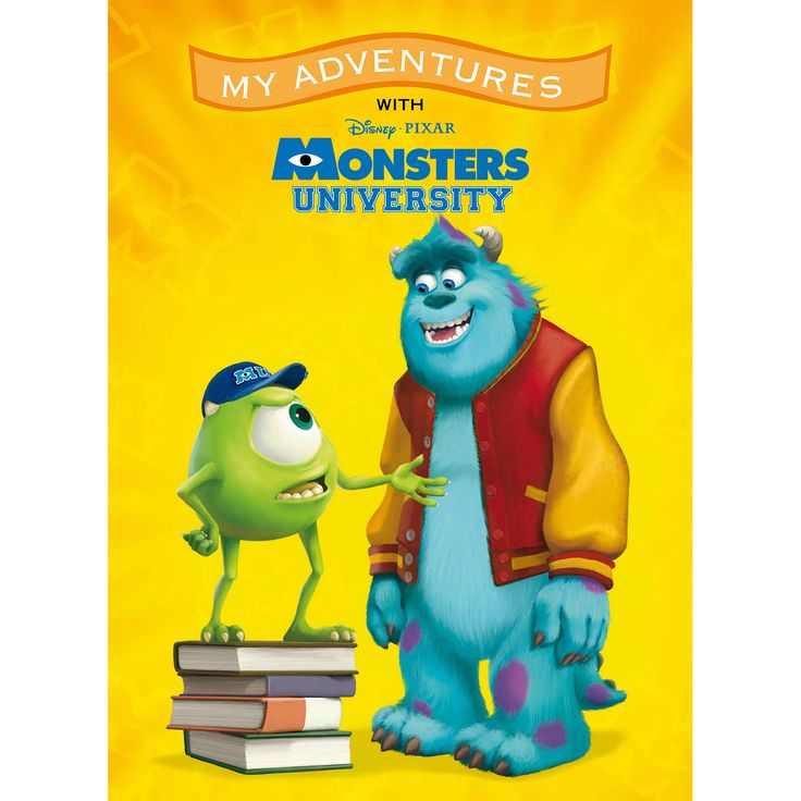 My Adventures with Disney Pixar Monsters University - 8x11 Soft Cover Book - Personalized Books - Books   Tv's Toy Box