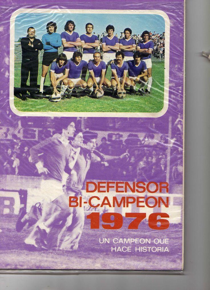 revista de Defensor , por el primer campeonato de futbol ganado por un equipo menor Montevideo Uruguay -Club Defensor Sporting