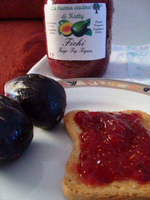 La buona cucina di katty: Marmellata di fichi con la MDP